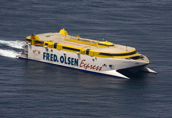 Fred Olsen High-Speed Vessel